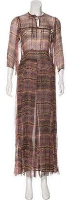 Etoile Isabel Marant Printed Maxi Dress