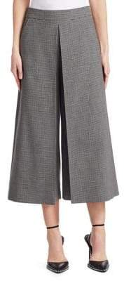Alexander Wang High-Waisted Cropped Wide-Leg Trousers
