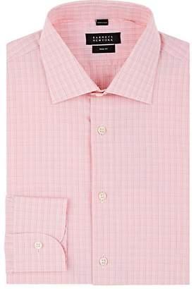 Barneys New York Men's Checked Cotton Poplin Shirt