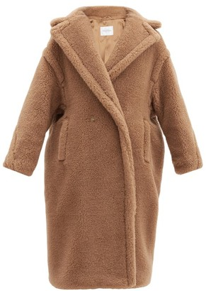 Max Mara Teddy Coat - Womens - Camel