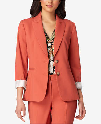 Tahari ASL Two-Button Jacket, Regular & Petite