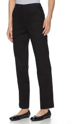 Croft & Barrow Petite Comfort Waist Pull-On Tapered Pants