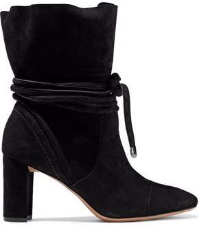 Alexandre Birman Betsy Suede Ankle Boots