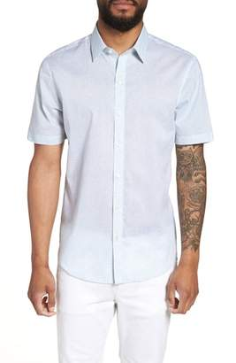 Zachary Prell Fung Regular Fit Sport Shirt