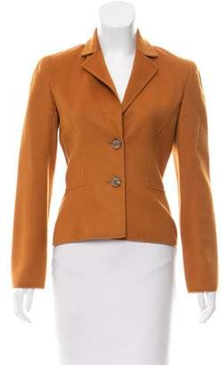 Valentino Structured Wool Blazer