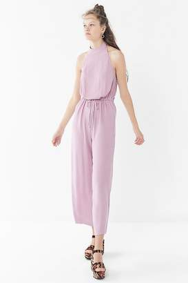5dad8f8dd9f7 Urban Outfitters Jamie Crepe Halter Jumpsuit