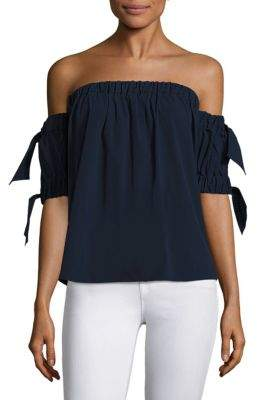 Milly Bow Off-The-Shoulder Top