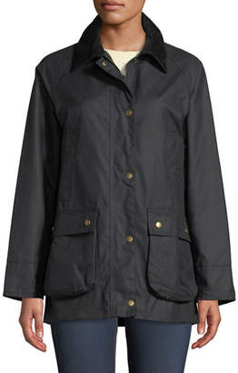 Barbour Acorn Waxed Jacket w/ Collar