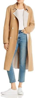 Rag & Bone Rach Reversible Wool-Blend Long Coat