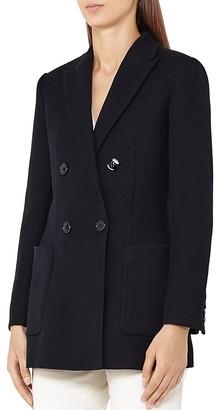 REISS Mills Textured Blazer $520 thestylecure.com
