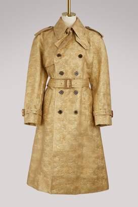 Maison Margiela Jacquard trench coat