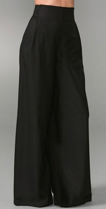 Jenni Kayne High Waisted Trousers