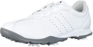 adidas Women's W Adipure DC Golf Shoe FTWR White Silver met 11 Medium US