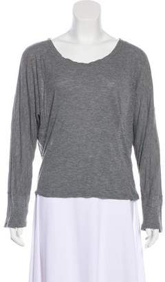 IRO Dolman Sleeve Rib Knit Top