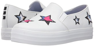 SKECHERS - Double Up - Starstruk Women's Slip on Shoes $60 thestylecure.com