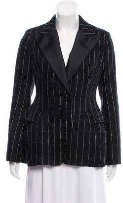 Ermanno Scervino Linen Striped Blazer
