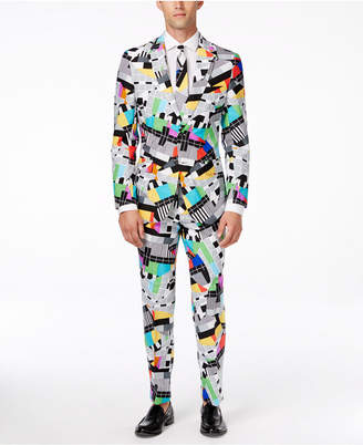 OppoSuits Testival Slim-Fit Suit & Tie $99.99 thestylecure.com