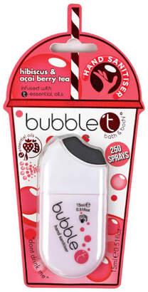 Bubble T Hibiscus & Acai Hand Sanitiser 15ml