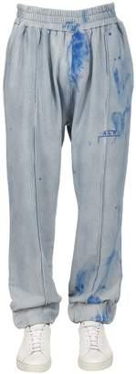 A-Cold-Wall* Tie Dyed Cotton French Terry Pants