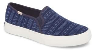 Keds R) Double Decker Summer Stripe Slip-On Sneaker