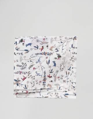 Gianni Feraud Libery Print Animal Pocket Square