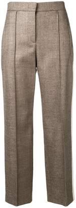 Fendi side-stripe tailored trousers