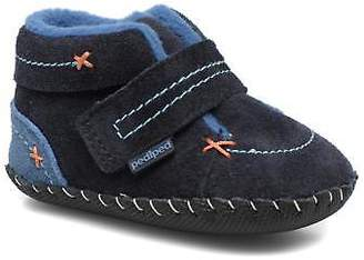 pediped Kids's Ronnie Hi-top Slippers in Blue