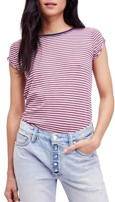 Free People Clare Stripe Tee