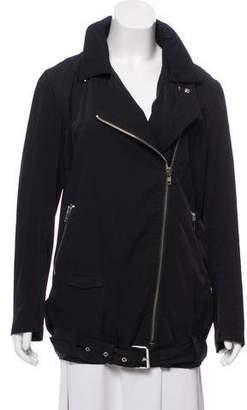 The Kooples Hooded Asymmetrical Jacket