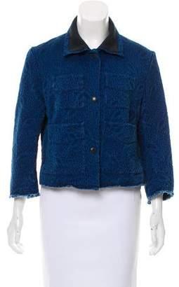Sonia Rykiel Matelassé Casual Jacket