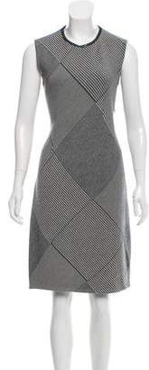 Christian Dior Houndstooth Wool Dress