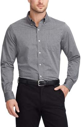 Chaps Men's Regular-Fit Easy-Care Stretch Button-Down Shirt