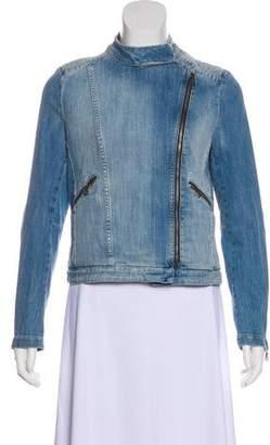 BA&SH Denim Zip-Up Jacket