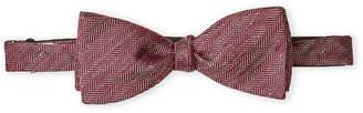 Vince Camuto Colonna Linen & Silk Bow Tie