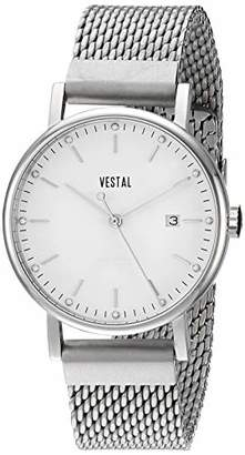 Vestal ' Sophisticate 36 Metal' Swiss Quartz Stainless Steel Dress Watch