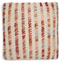 Safavieh Candy Cane Loop Wool Throw Pillow