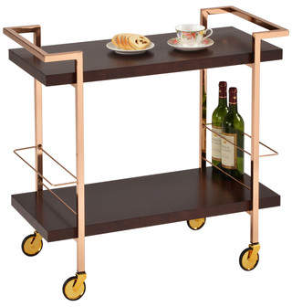 Design Guild Rolling Bar Cart