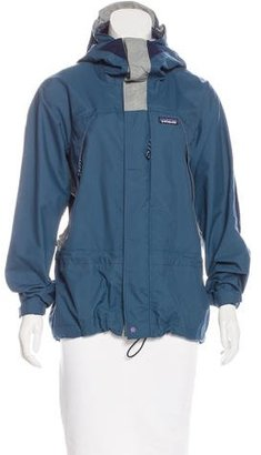 Patagonia Hooded Lightweight Jacket $95 thestylecure.com