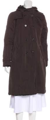 Max Mara 'S Reversible Knee-Length Coat