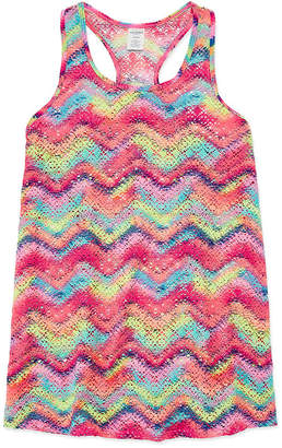 Arizona Chevron Multi Color Cover Up Girls 4-16 & Plus