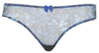 Evans Curvy Kate Blue Sheer Joy Brazilian Knickers