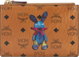 MCM Rabbit Keycase In Visetos