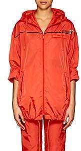 Prada Women's Tech-Taffeta Anorak - Orange