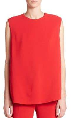 Derek Lam Belt-Back Sleeveless Shell