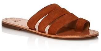 Marc Fisher Women's Rilee Flat Slide Sandals
