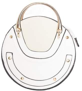 Missy Empire Missyempire Wendy White Gold Circle Bag