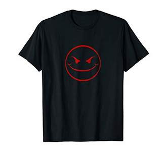 Evil Smiley Face | Sarcastic Funny Diabolical Evil T-shirt