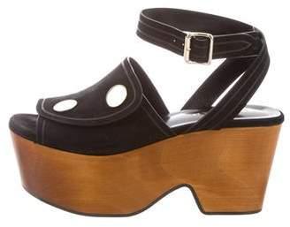 Derek Lam Suede Wedge Sandals w/ Tags