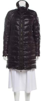 Belstaff Down Puffer Coat Black Down Puffer Coat