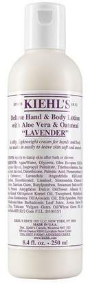 Kiehl's Lavender Deluxe Hand & Body Lotion with Aloe Vera & Oatmeal, 8.4 fl. oz.